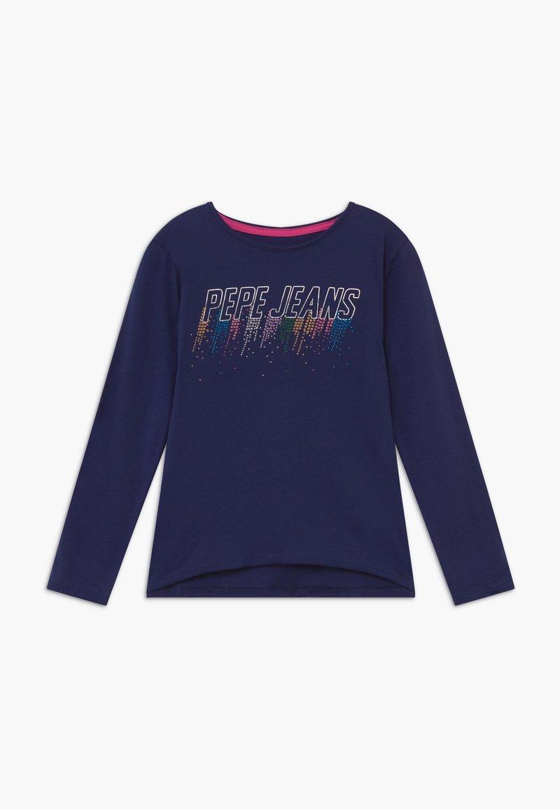 Pepe Jeans - MARIE - Top sdlouhým rukávem - scout blue