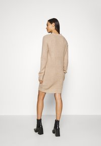 Even&Odd - Pletené šaty - tan - 2