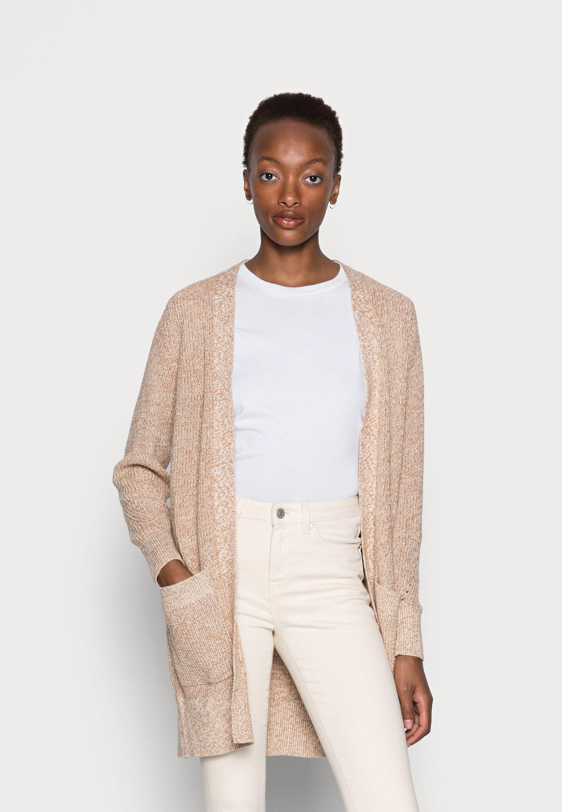 Women CARD - Cardigan - beige