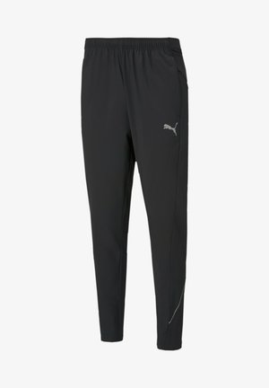 HOMMES - Tracksuit bottoms - puma black