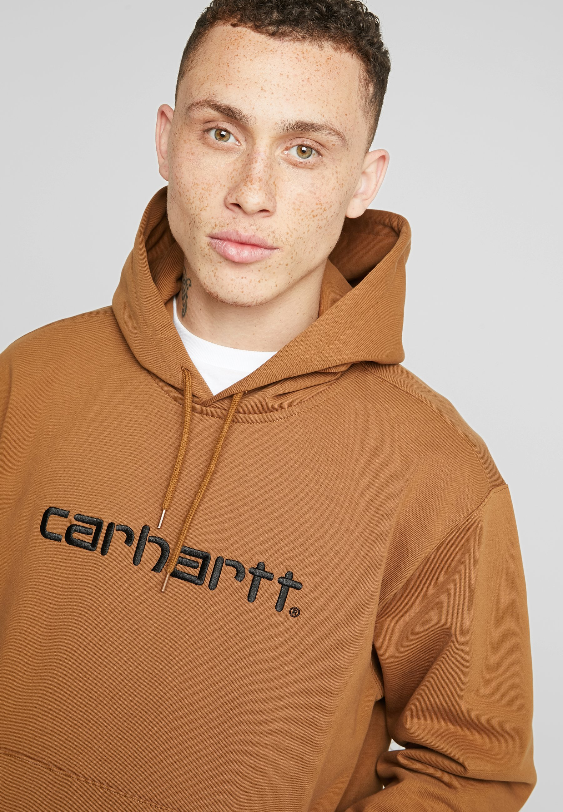 Carhartt Wip Hoodie - Hamilton Brown/black