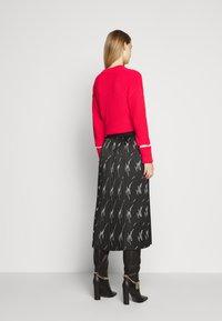 HUGO - RALISSY - Plisovaná sukně - black - 2