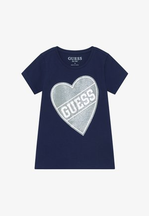 TODDLER HIGH LOW - Print T-shirt - deck blue