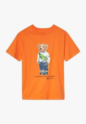 Triko spotiskem - bright signal orange