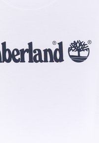 Timberland - SHORT SLEEVES TEE - Print T-shirt - white - 2