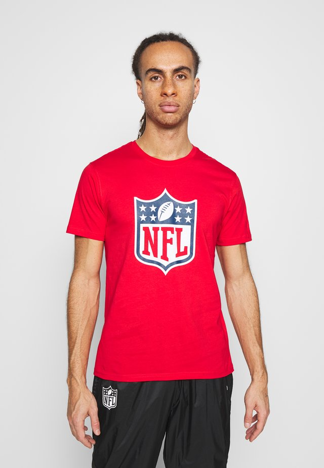 NFL ICONIC SECONDARY COLOUR LOGO GRAPHIC  - Club wear - red