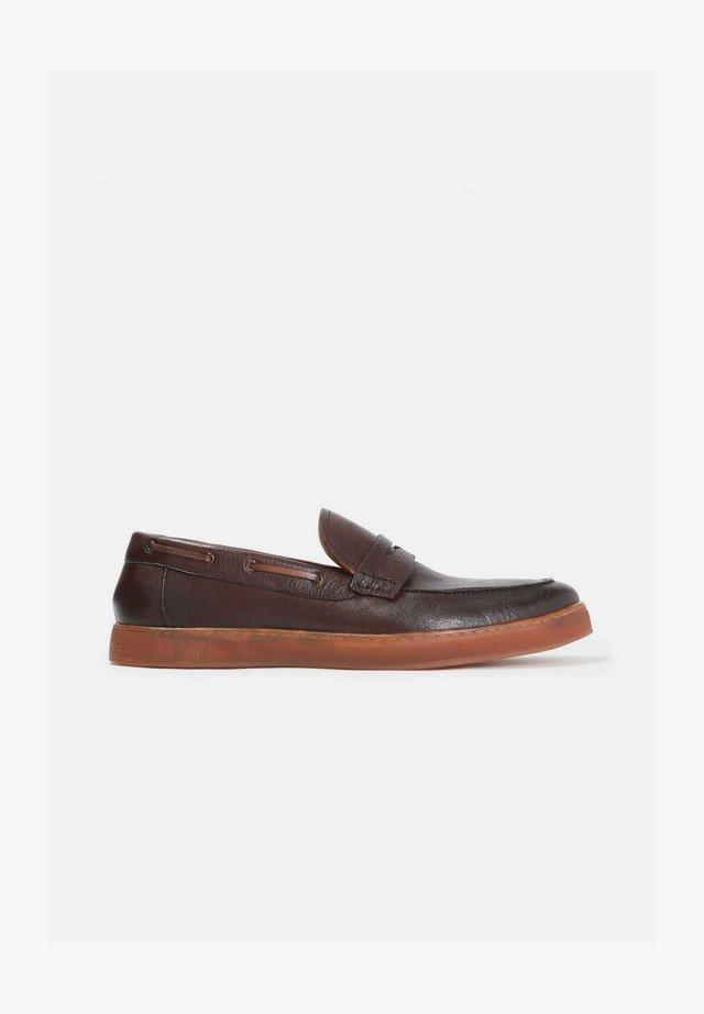ELIOR - Scarpe senza lacci - brown