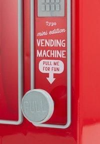 TYPO - MINI VENDING MACHINE - Accessorio - red - 4