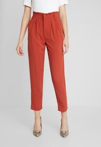 Even&Odd - Trousers - rusty red - 0