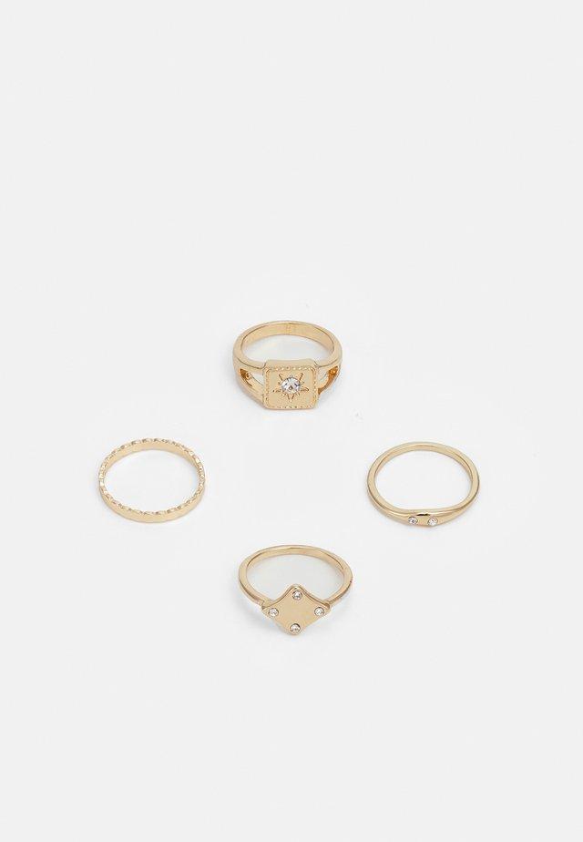 PCNORILLA 4 PACK - Smykke - gold-coloured
