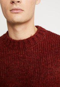 River Island - BOUCLE CREW - Jumper - rust - 5