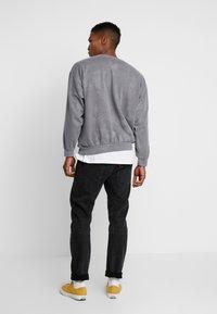 Topman - UNISEX ZURICH PUFF  - Sweatshirt - grey - 2