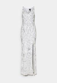 Adrianna Papell - BEADED GOWN WITH MERMAID SKIRT - Společenské šaty - ivory - 0