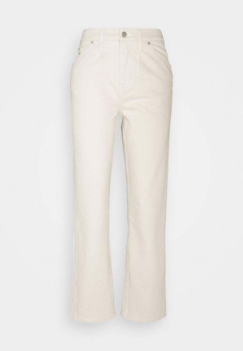 Calvin Klein Jeans - HIGH RISE STRAIGHT ANKLE - Jeans straight leg - denim light