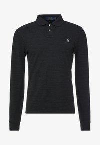 BASIC  - Polo shirt - black marle heather