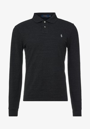 BASIC  - Pikeepaita - black marle heather