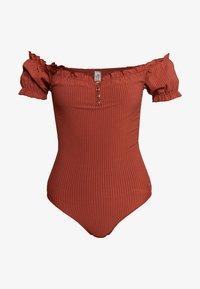 ANDREA - Swimsuit - chocolat