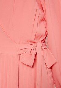 Vero Moda Curve - VMLAUREN WRAP DRESS - Sukienka koktajlowa - tea rose - 2