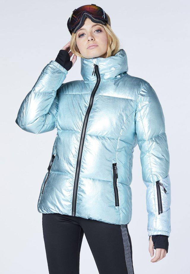 Ski jacket - l blu/l gry aop
