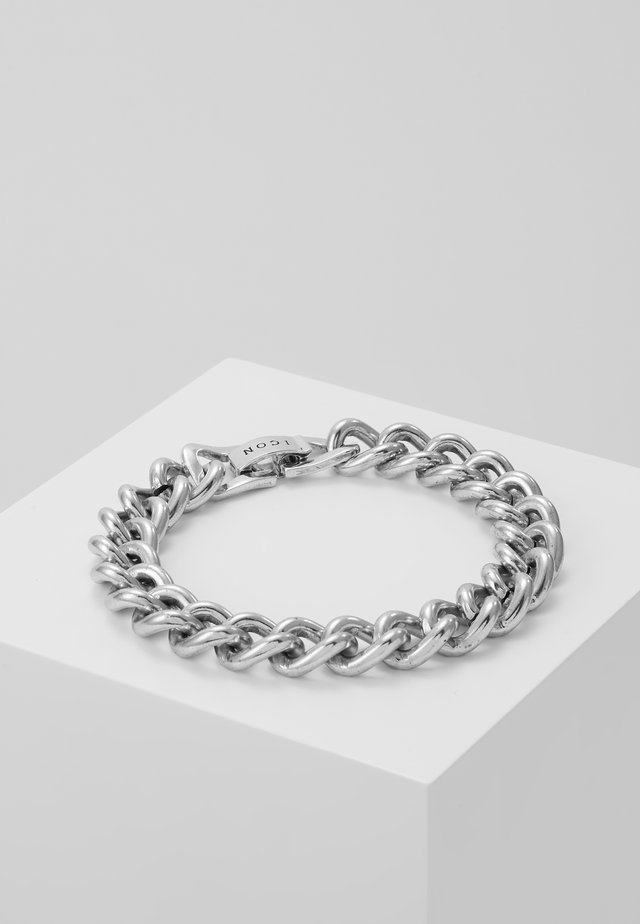 FOUNDATION BRACELET - Armbånd - silver-coloured