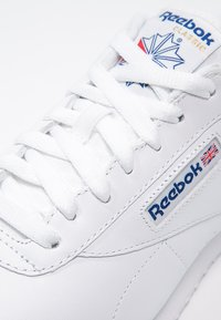 Reebok Classic - EXOFIT LO CLEAN LOGO SHOES - Trainers - white/royal blue - 5