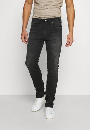 SKINNY - Slim fit -farkut - denim black