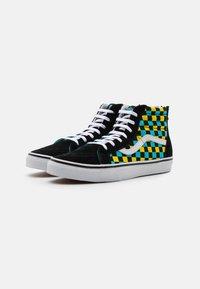 Vans - SK8 ZIP UNISEX - High-top trainers - black/multicolor - 1