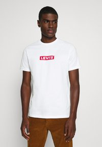 Levi's® - BOXTAB GRAPHIC TEE UNISEX - Print T-shirt - neutrals - 0