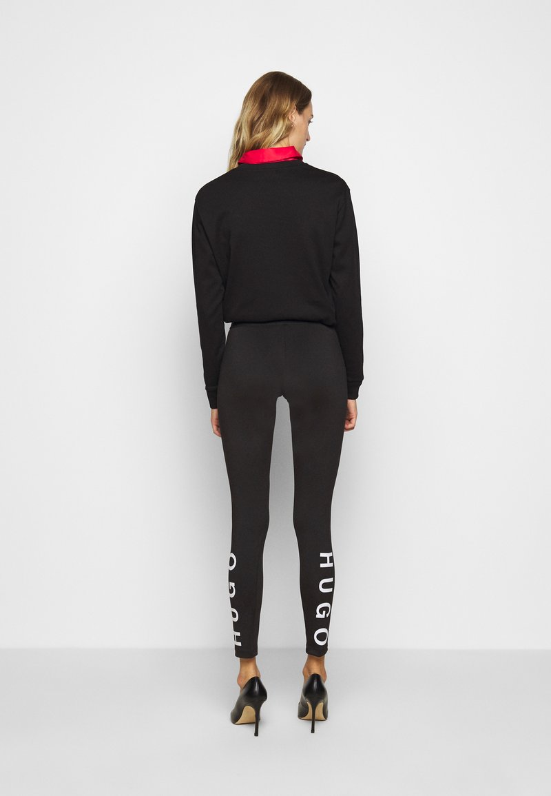 HUGO - Leggings - Trousers - black