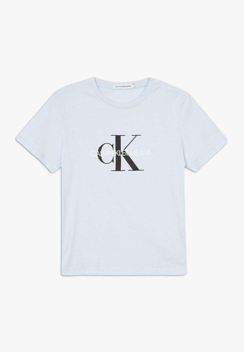 Calvin Klein Jeans - MONOGRAM LOGO UNISEX - Print T-shirt - blue