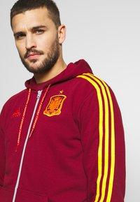 adidas Performance - FEF SPANIEN FZ HD - Zip-up hoodie - bordeaux - 3