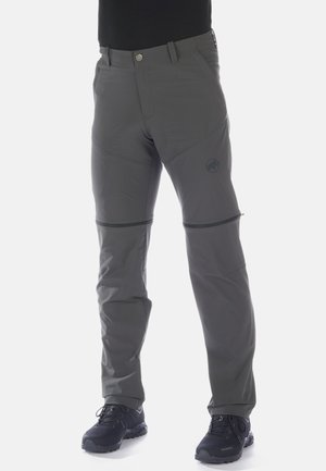 RUNBOLD ZIP OFF - Outdoor trousers - dark grey