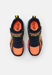 Skechers - FLEX GLOW - Trainers - navy/orange/yellow - 3