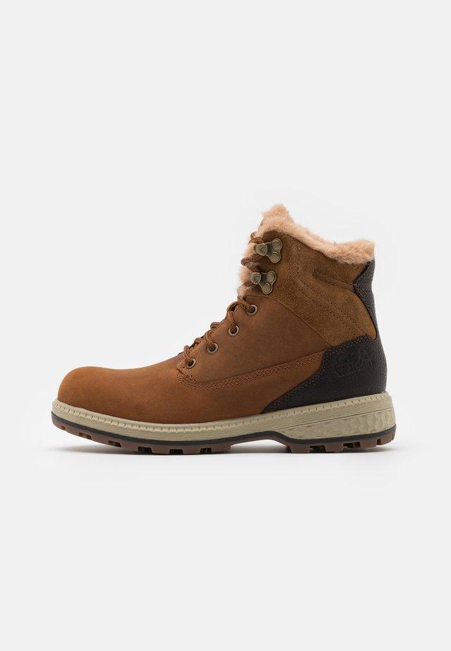 JACK WT MID  - Winter boots - cognac/mocca