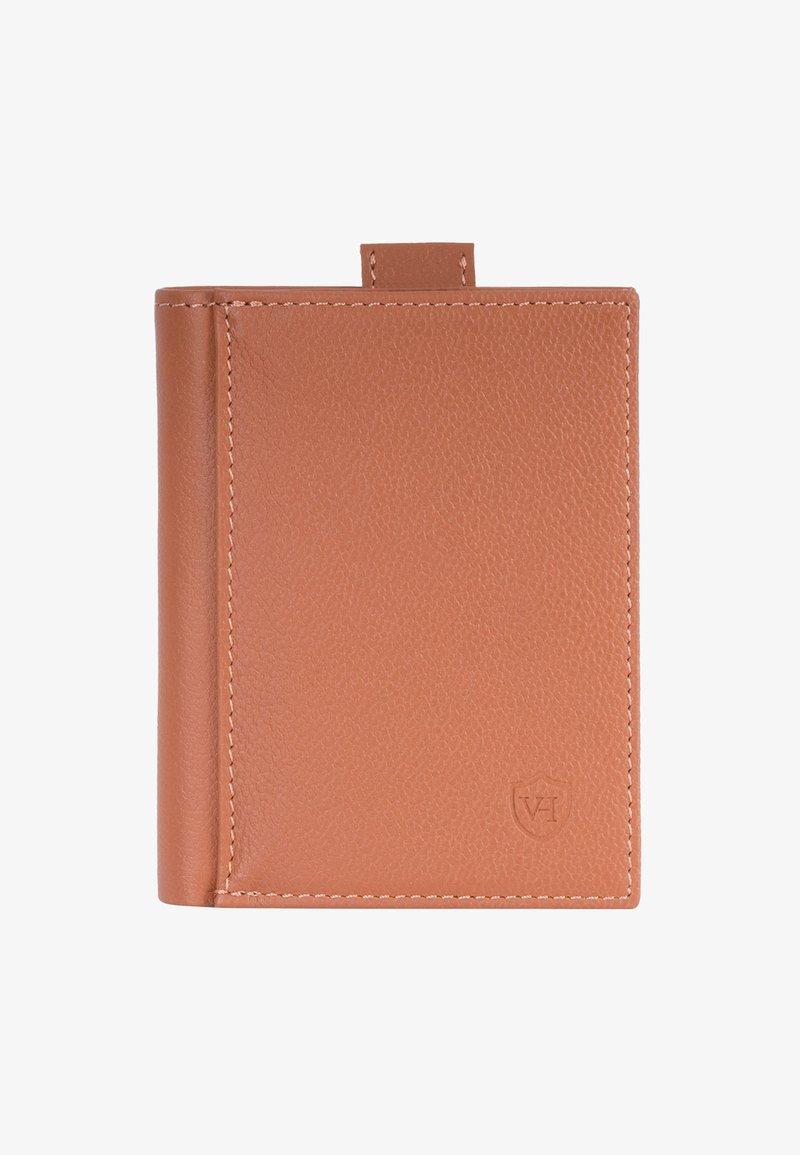 VON HEESEN - Wallet - cognac (genarbt)