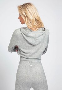 Guess - Jersey con capucha - light grey - 2