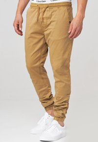 INDICODE JEANS - FIELDS - Trousers - amber - 3