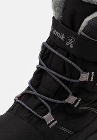 Kamik - STANCE UNISEX - Winter boots - black - 5
