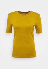 J.CREW - CREWNECK ELBOW SLEEVE - Basic T-shirt - bronzed olive - 4