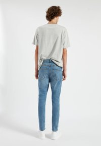 PULL&BEAR - Slim fit jeans - dark blue - 2