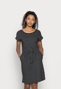 Vero Moda Petite - VMAPRIL SHORT DRESS 2 PACK - Jerseykjole - black/black /snow white - 1