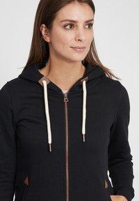 Oxmo - VICKY  - Zip-up hoodie - black - 3