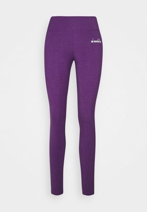 LEGGINGS BE ONE - Tights - majesty violet melange