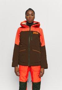Helly Hansen - POWCHASER LIFALOFT JACKET - Snowboard jacket - wild rose - 0