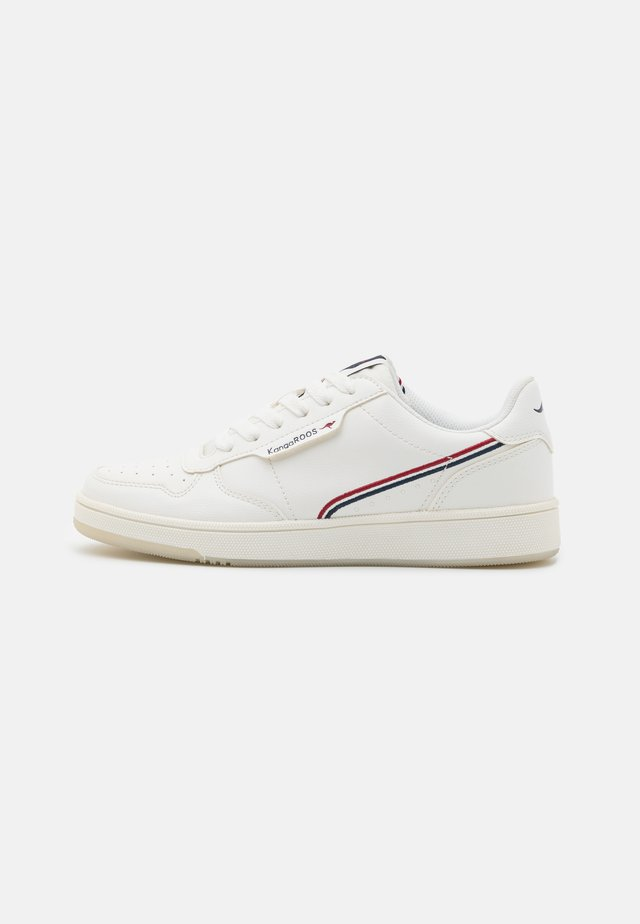 RC-SKOOL - Sneakers laag - white/red