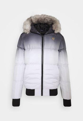 DISTANCE JACKET - Winter jacket - black/white