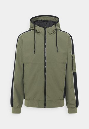 OUTERWEAR - Summer jacket - dusty olive