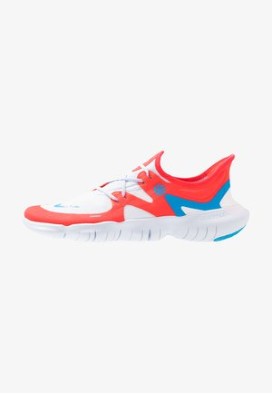 FREE RN 5.0  - Minimalist running shoes - red orbit/blue hero/football grey/white/ghost/black