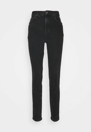 PCLEAH - Relaxed fit jeans - black
