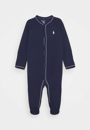 SOLID ONE PIECE COVERALL - Sleep suit - french navy
